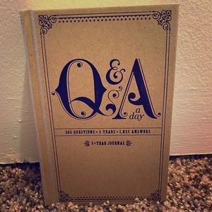 Q & A a Day- 5 year journal